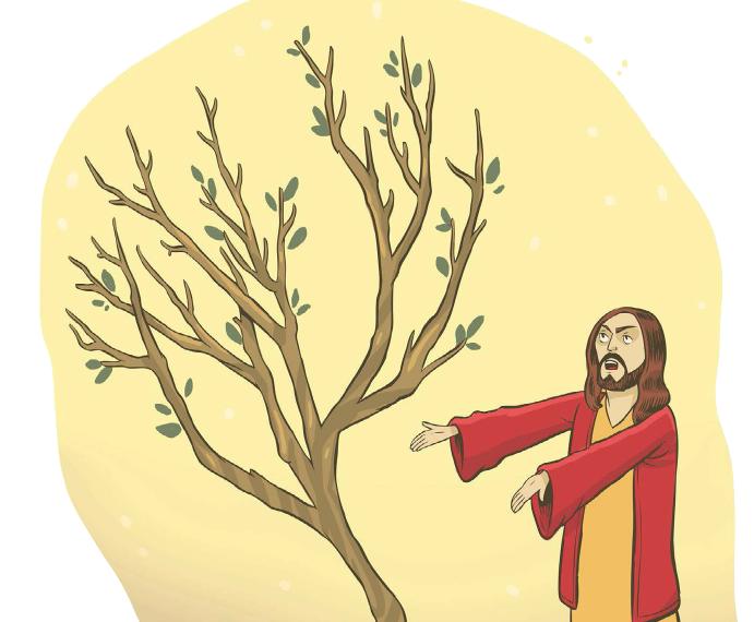 Bible stories - God hates fids