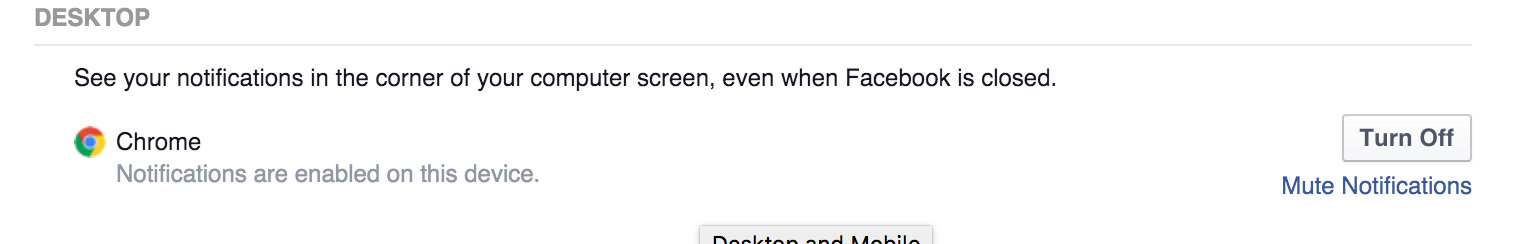 How to disable Facebook Popup Notifications(5)
